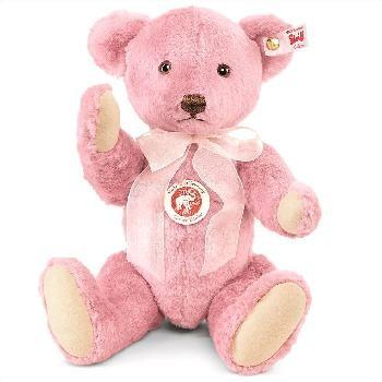 Steiff 682896 Silk Petsy Rose Teddybär 30 cm
