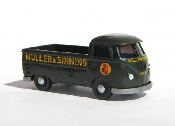 Wiking VW T1 Pritschenwagen Müller & Sinning