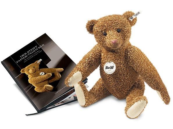 Steiff 421099 Club-Edition 2010 Papier-Teddybär 1919 Replica 32 cm