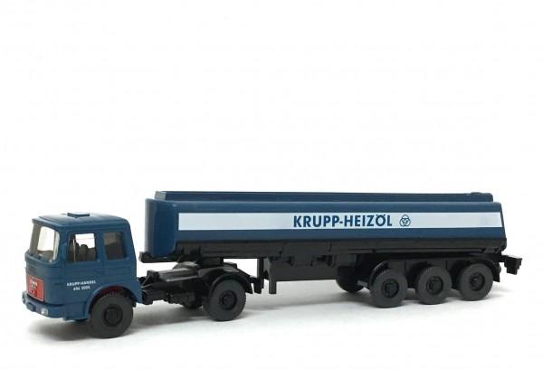 Wiking MAN 13.304 FS Tanksattelzug Krupp-Heizöl