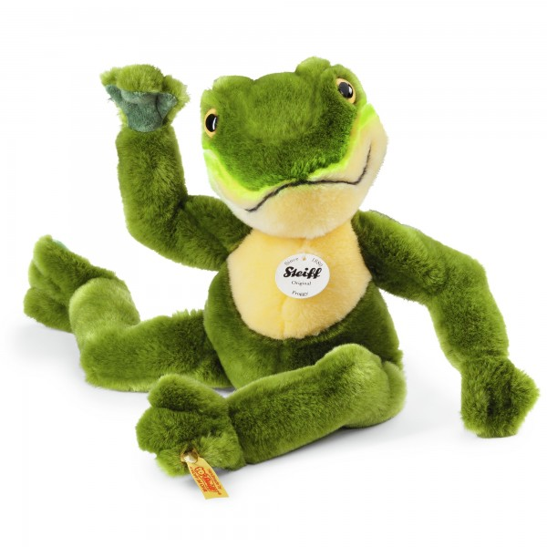 Steiff 064586 Froggy Schlenker Frosch 30 cm