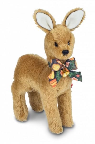 Teddy Hermann 156260 Weihnachtsreh 26 cm