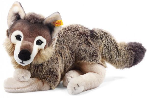 Steiff 069284 Snorry Schlenker Wolf Webpelz 40 cm