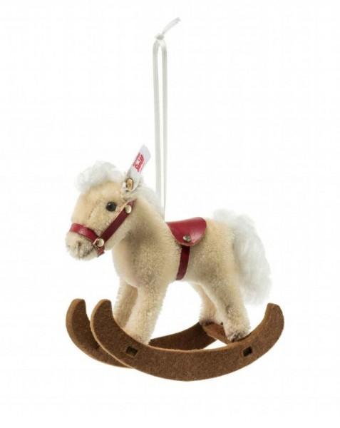 Steiff 683398 Rocking Horse Ornament 14 cm