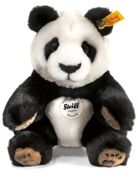Steiff 064784 Teddybär Manschli Panda 25 cm Pandabär kuschelig weich